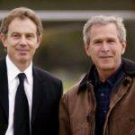 Filmpjes met Bush en Blair over warlords